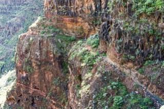 Weg durch die Steilwand 2006