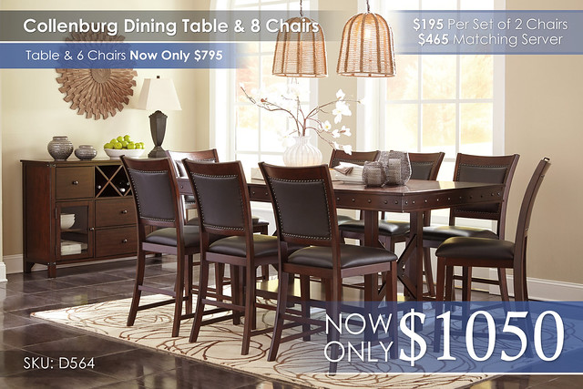 Collenburg Dining Set w8 Chairs D564-32-124(8)-60-R4400151_new
