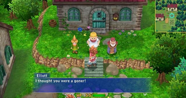 Tajna Mana PS4 Walkthrough - Village