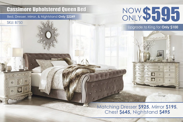 Cassimore Queen Upholstered Bed_new
