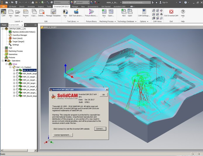 Programming with InventorCAM 2017 SP2 Multilang for Autodesk Inventor x64 full