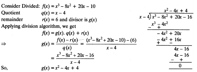 Important Questions for Class 10 Maths Chapter 2 Polynomials - CBSE Tuts