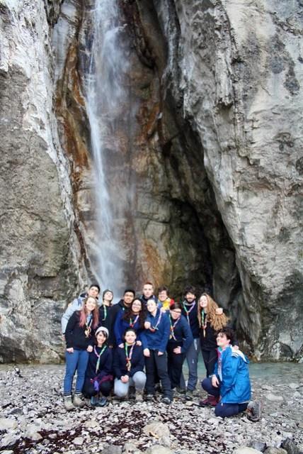 Noviziato- Cascata del Cenghen