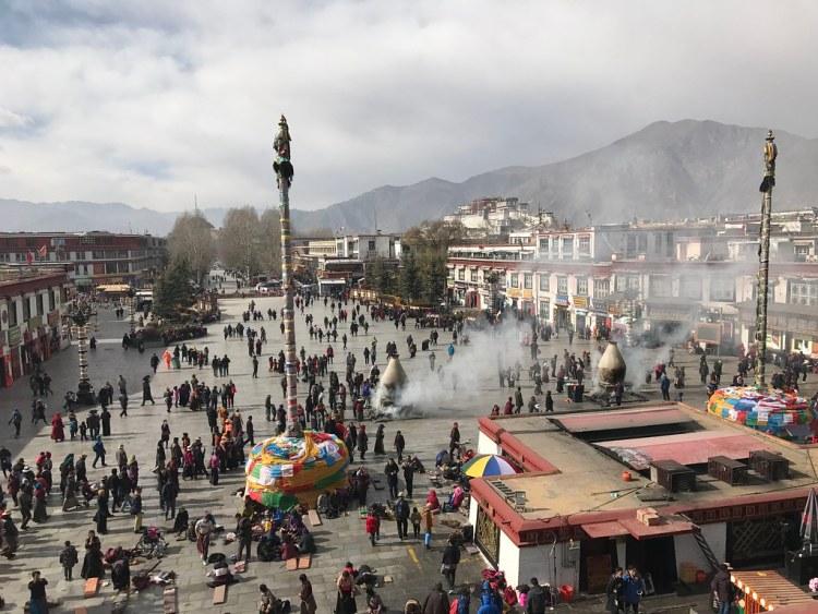 Lhasa Old Town