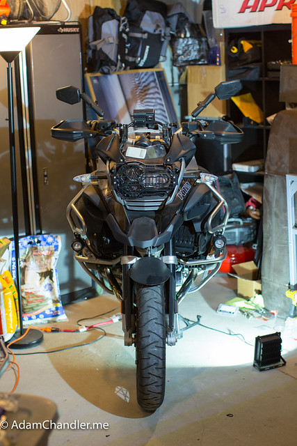 BMW R1200GS Adventure Triple Black  Winter Storage
