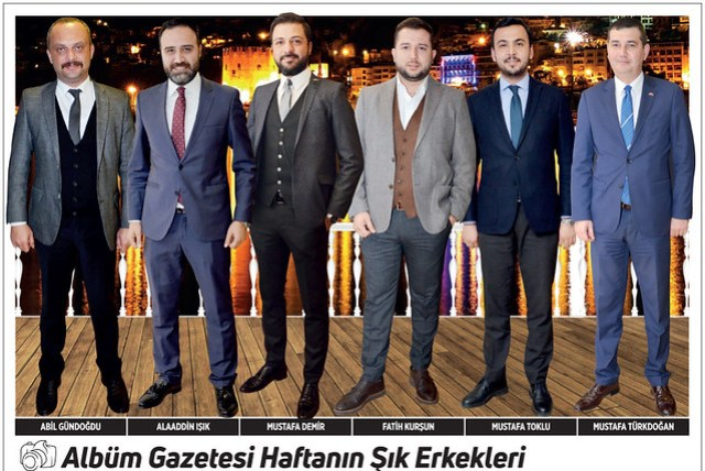 Abil Gündoğdu, Alaaddin Işık, Mustafa Demir, Fatih Kurşun, Mustafa Toklu, Mustafa Türkdoğan