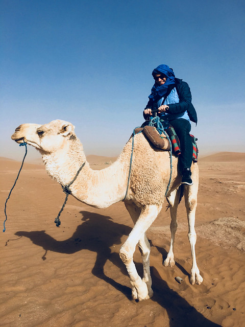 Tony & camel :)