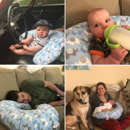 baby parenting tip Boppy pillow uses
