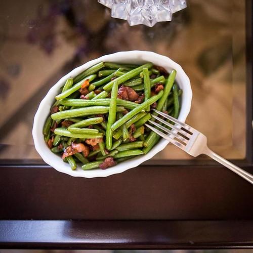 Keto Bacon Green Beans Recipe
