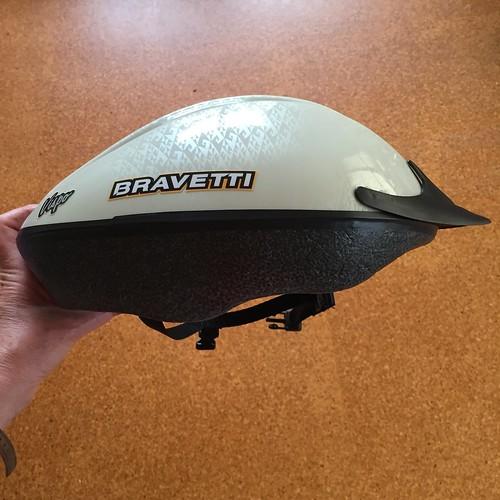 Bicycle helmet - top and side