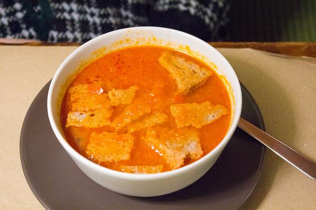 Sopa de tomate. Un plato típico extremeño