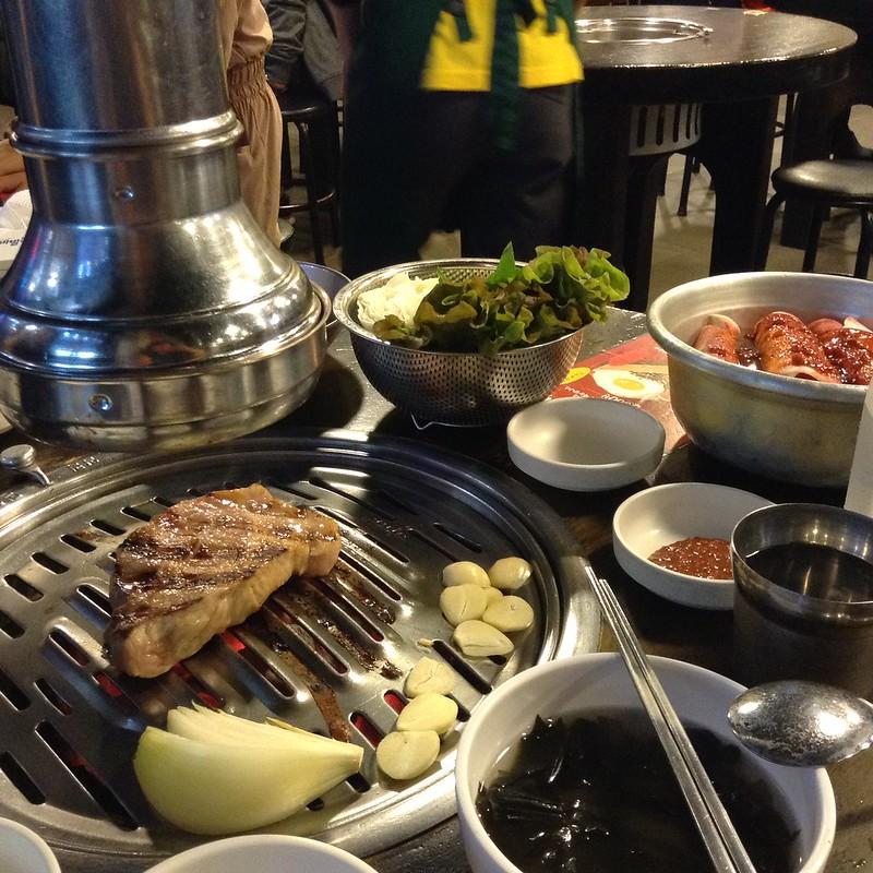 Korean BBQ   One Day in Seoul