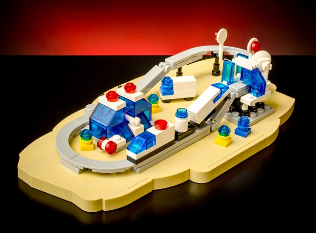 Lego Monorail Returns Microscale The Brothers Brick The