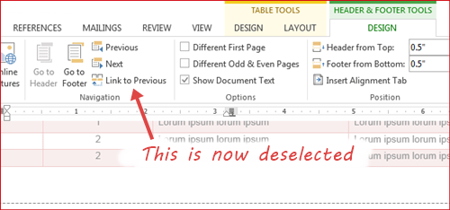 Use Both Portrait and Landscape Pages in the Same Document