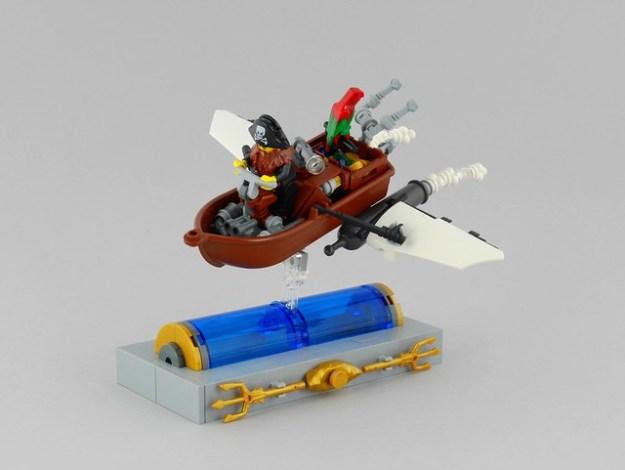 Captain Birdeye's Getaway Speeder