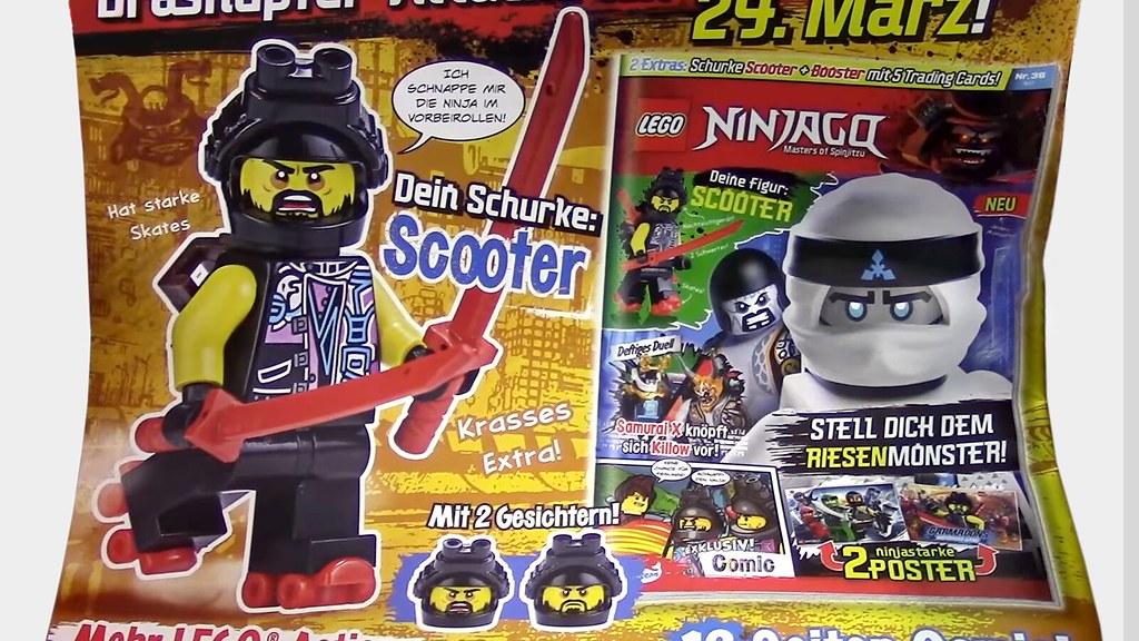 LEGO Ninjago Magazin broj 35 - Scooter