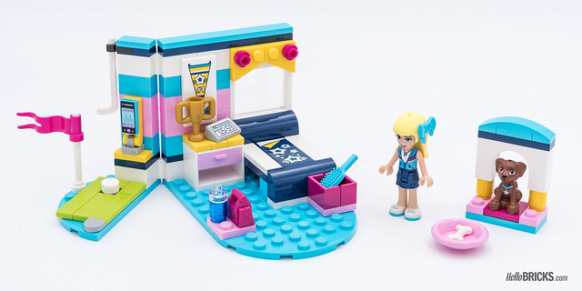 REVIEW LEGO Friends 2018 - LEGO 41328 Stephanie's Bedroom