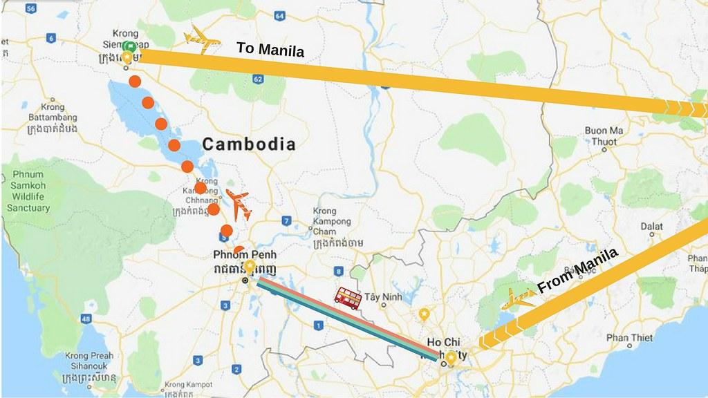 Vietnam-Cambodia Itinerary