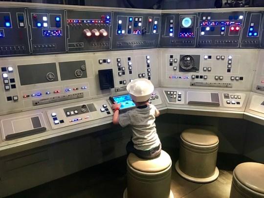 button pushing?