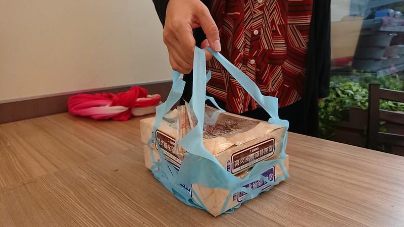 台湾のコンビニで貰える弁当用コンビニ袋