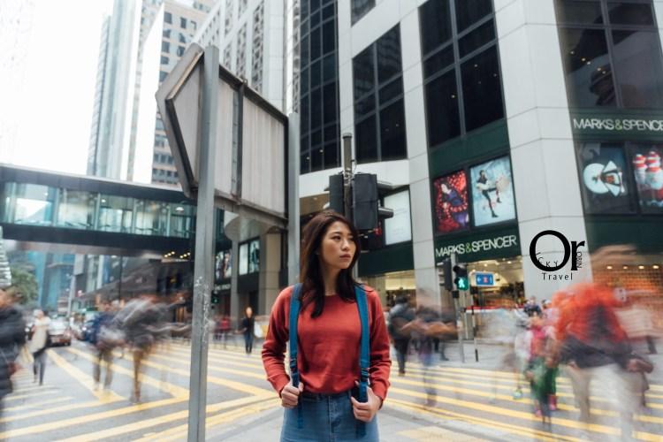 香港景點 在中環散步是來到香港不能錯過的,港島上新舊的交匯點,這裡是香港的精華