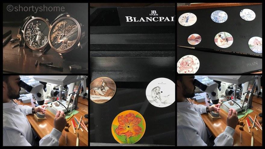 A visit to Blancpain in the Vallée de Joux - Le Brassus Metiers d'Arts