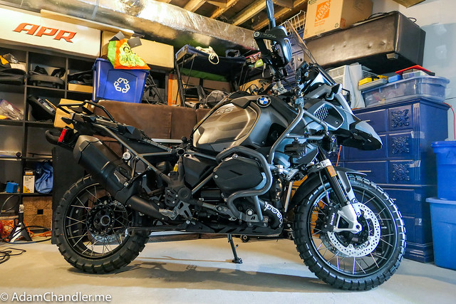 R1200GS Quadruple Black Update