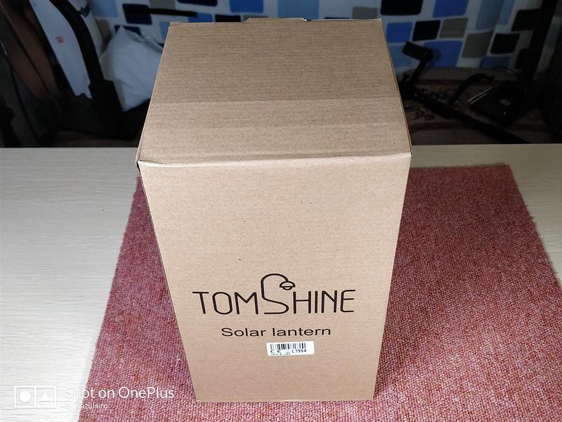 Tomshine ソーラーLEDランタン (1)