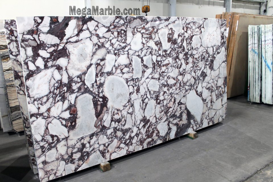 Calacatta Viola 2cm marble slabs for countertop