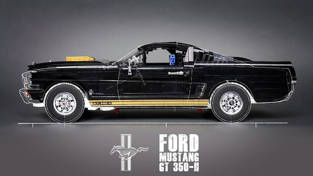 Ford Mustang GT 350-H