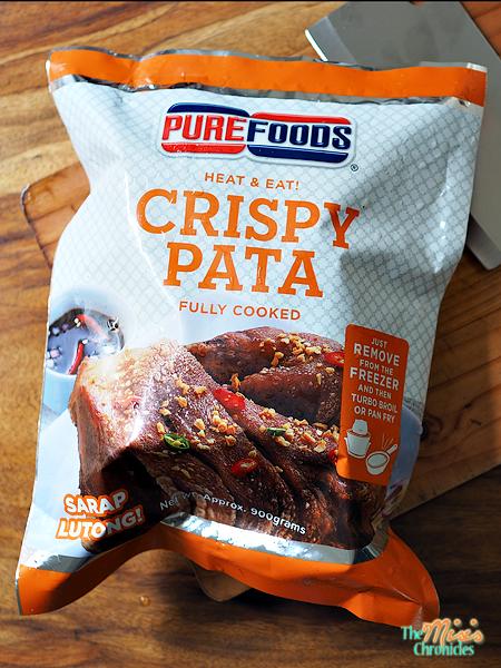 Purefoods Heat and Eat Crispy Pata