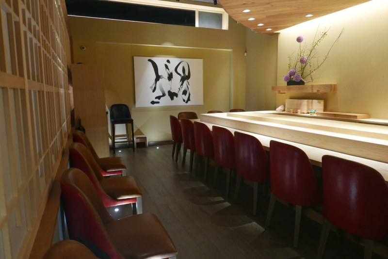 The sushi omakase at Uchu will be in this room, set to open in late August.