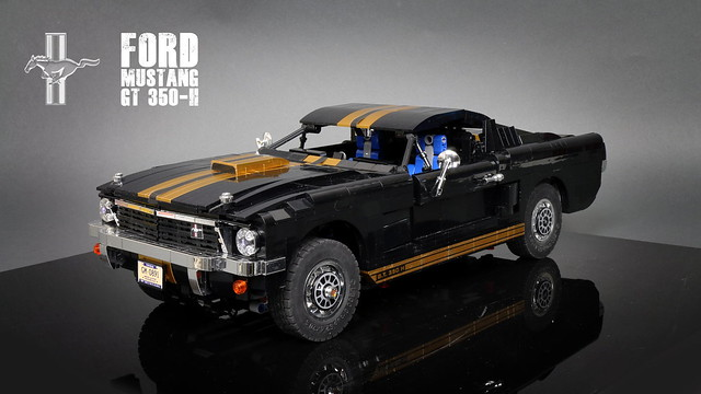 LEGO Ford Mustang GT 350-H