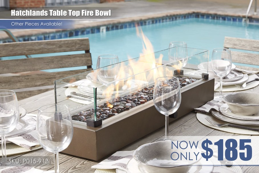 Hatchlands Table Top Fire Bowl_P015-913