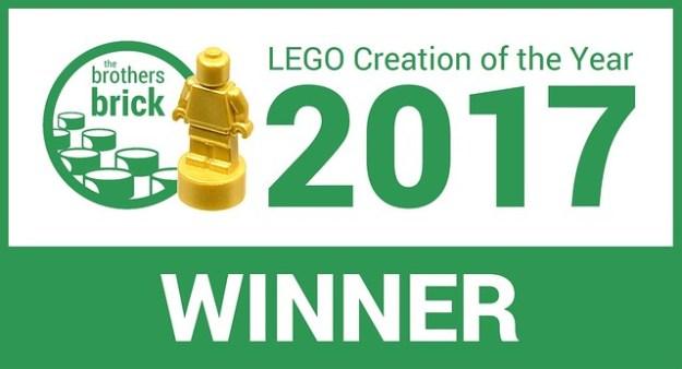 TBB乐高年度最佳赢家2017