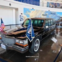 1983 Cadillac Presidential Limo at the Reagan Library