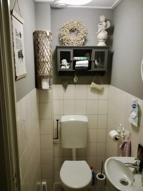 Toilet landelijk brocante