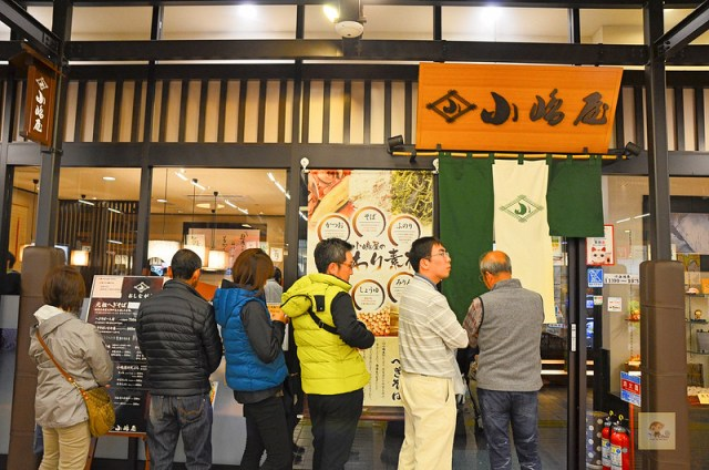 越後湯澤小鳩屋, 小嶋屋蕎麥麵, 越後湯澤必吃美食, 越後湯澤晚餐推薦, 越後湯澤便宜美食