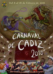 Cartel Carnaval Cádiz 2018 Final