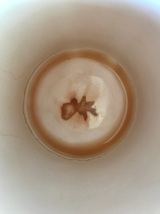 Coffee footprint!