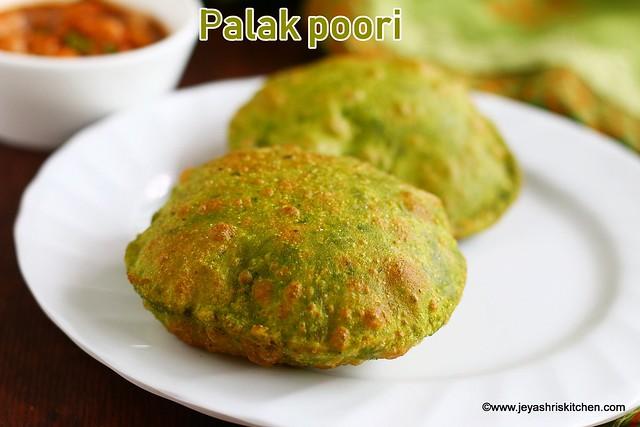 Palak- poori
