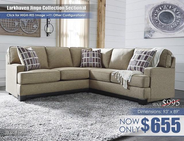 Larkhaven Jingo Collection Sectional 81902-55-49