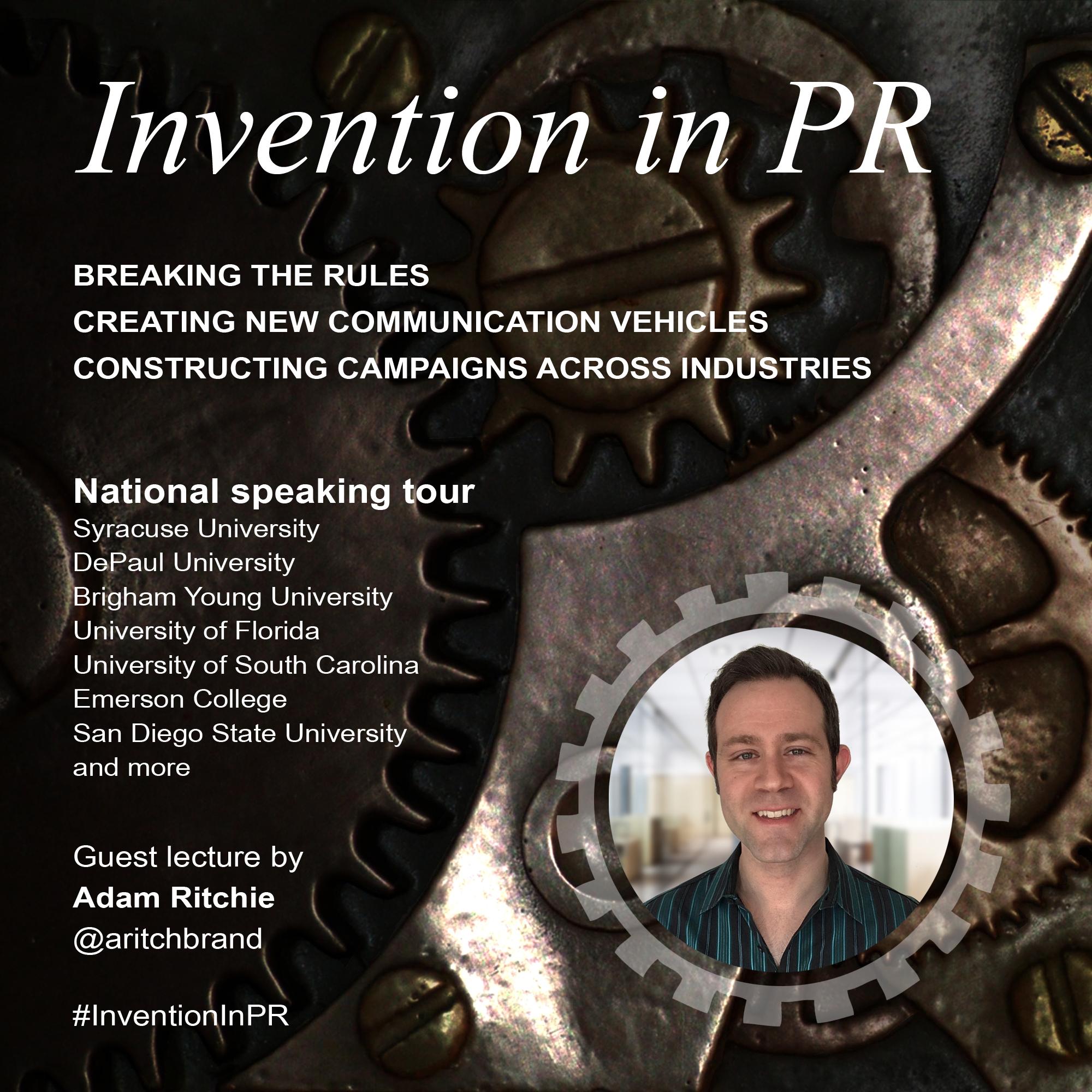 Invention in PR