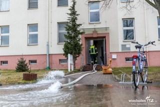 Wasserschaden Wiesbadener Straße 07.03.18