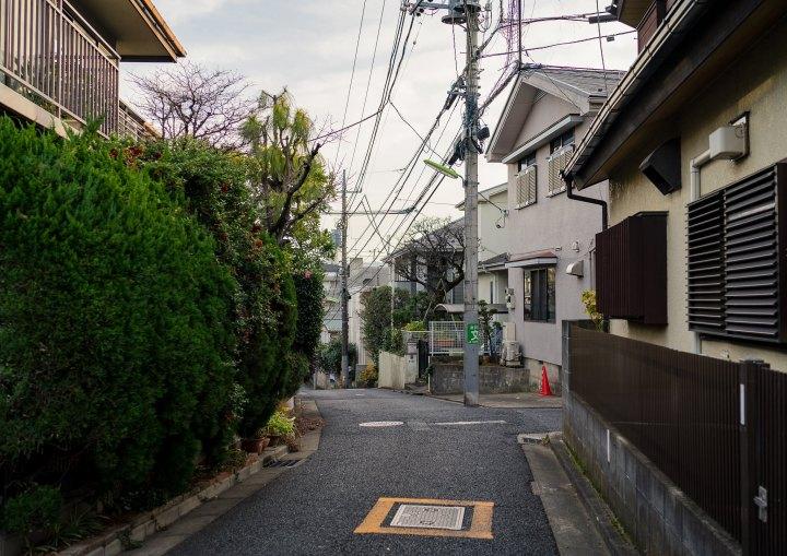 Suburban Tokyo Street