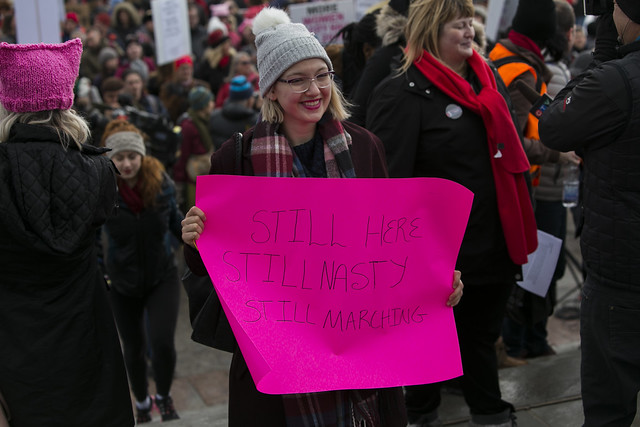 Women's March in Ottawa 2018