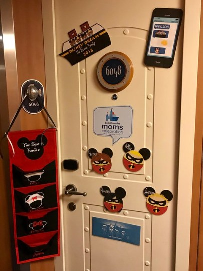 disney dream cruise door