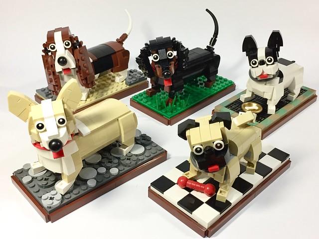 LEGO Dwarf Dogs - Bande de (mini) chiens