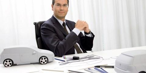Flavio Manzoni during his time at Volkswagen
