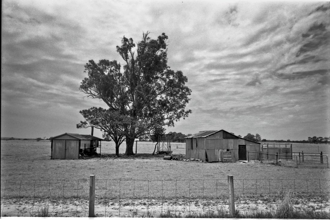 Rundown farmhouses